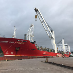 Loading of RTG cranes