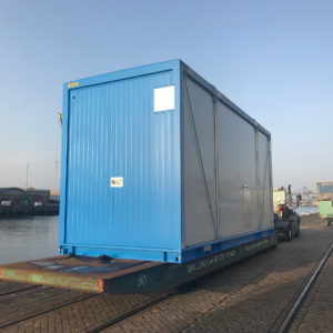 Delivery of temperature sensitive modules
