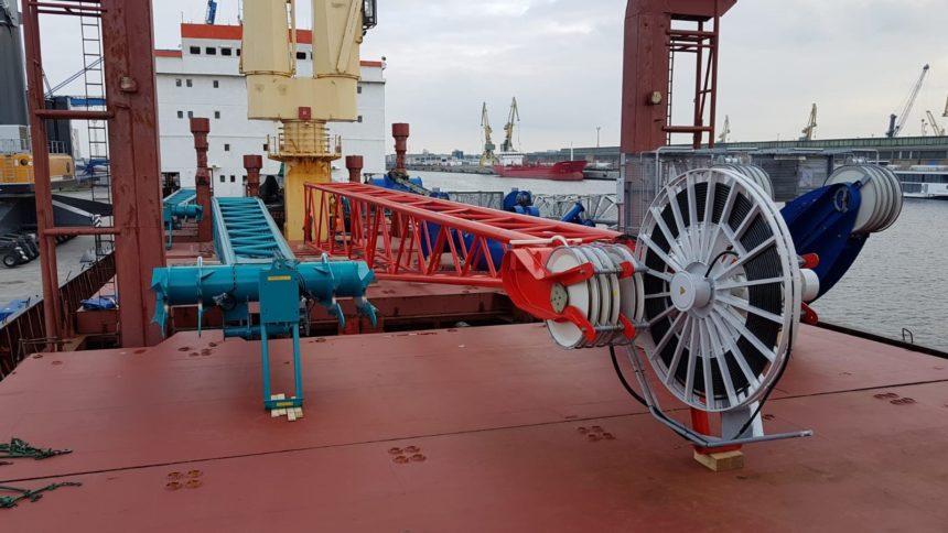 Second shipment in september ex rostock, germany